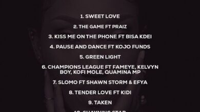 Photo of Wendy Shay – Kiss On The Phone Ft. Bisa Kdei (Shayning Star Album)